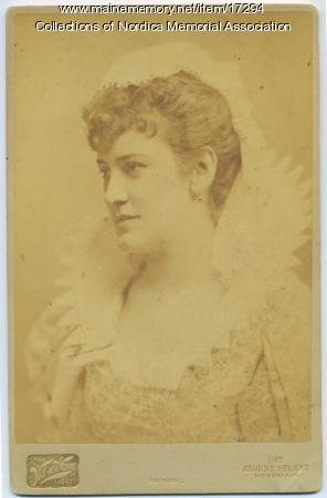Lillian Nordica as Valentine, 1887