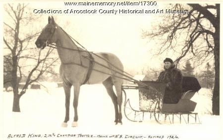 Alfred King, Houlton, ca. 1926