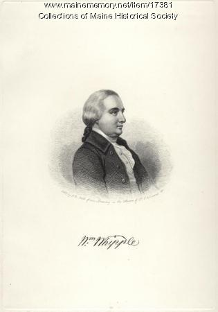 William Whipple, Kittery