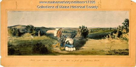 Sketch with Camera Lucida, ca 1841