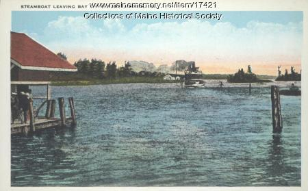 Steamboat, Naples, ca. 1925