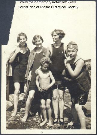 Woodbury and Holding children, ca. 1930