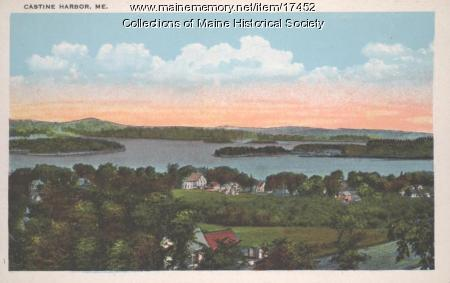 Castine Harbor, ca. 1930
