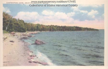 Contention Cove, near Ellsworth, ca. 1935