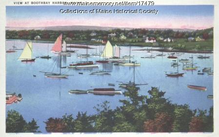 Boothbay Harbor, ca. 1935