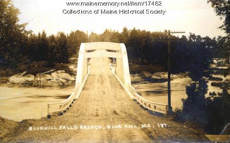 Blue Hill Falls Bridge, ca. 1930