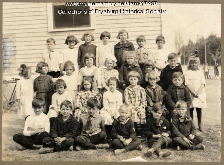 Fryeburg Grammar School, ca. 1921