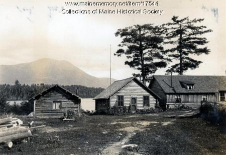 Twin Pine Camps, Daicy Pond, ca. 1931