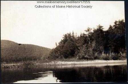 Near Lobster Lake, 1909