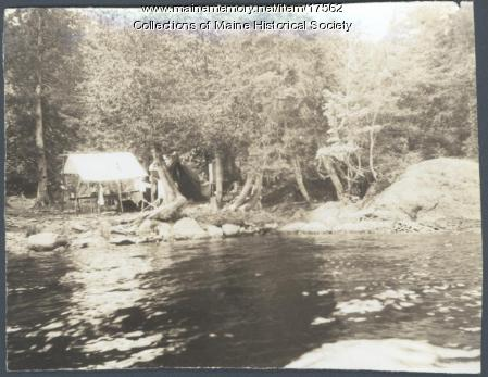 Lobster Lake camp, 1909