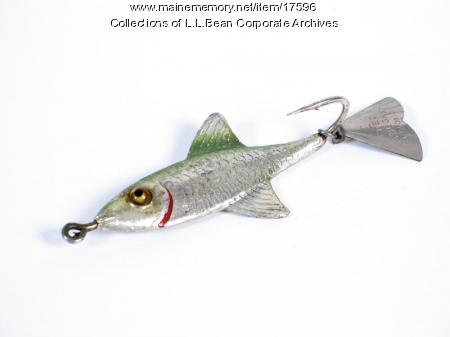 Fishing lure, ca. 1960
