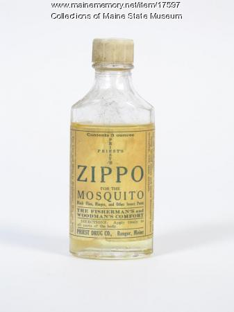 Zippo for the Mosquito, ca. 1900