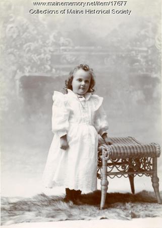 Gladys Merriman, Harpswell, ca. 1893