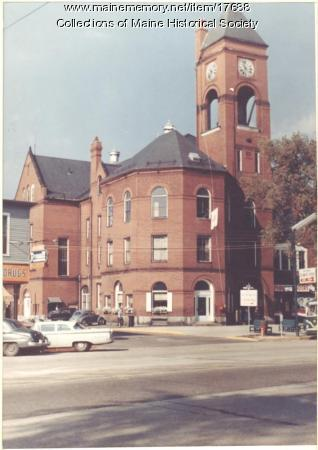 Brunswick Town Hall, ca. 1960