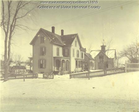 John Stanwood home, Brunswick, ca. 1920