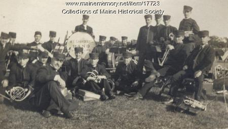 W. E. Chandler's Band, Kennebunkport, 1910