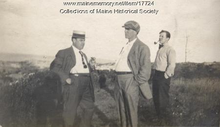 Varney Band, Peak's Island, 1910