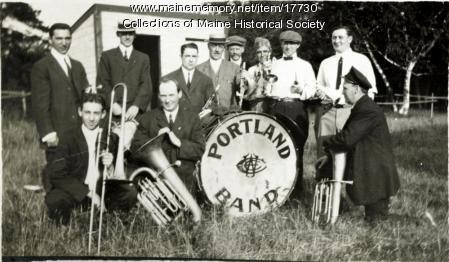 Chandler's Band, Long Island, 1912