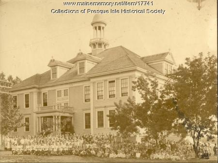 Perry Auto Sales >> Presque Isle: The Star City - Training School, Presque Isle, ca. 1920