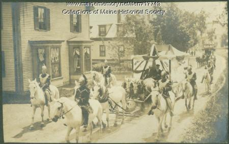 Old Home Week parade, Kennebunk, 1907
