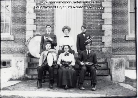 Fryeburg Academy Music Class
