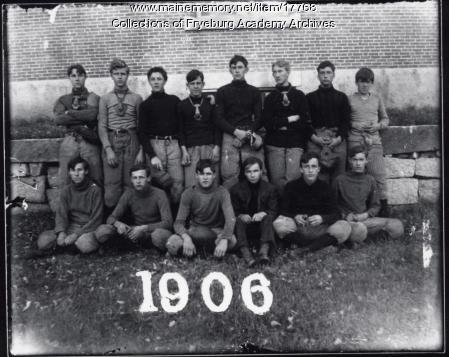Fryeburg Academy Football Team, 1906