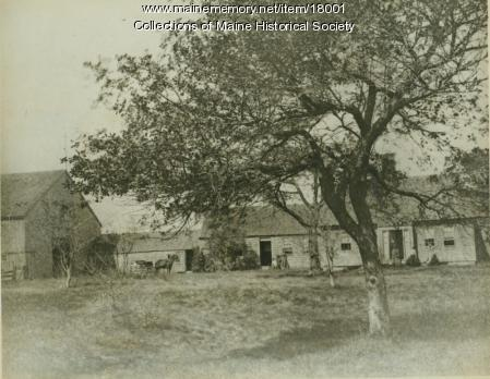 John Tuttle Farm, Freeport, ca. 1875