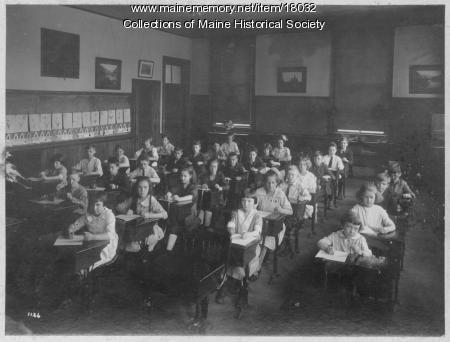 Elementary students, Portland, ca. 1923