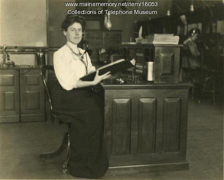 Winnie McCarthy, Lewiston, ca. 1911