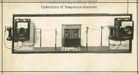 Telephone System Model, 1912