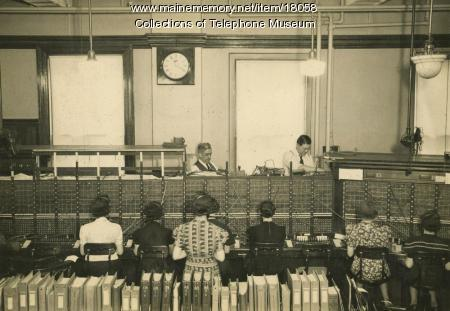 Switchboard operators, 1939