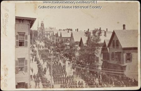 Portland parade, ca. 1885