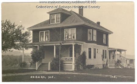 Sebago Post Office, 1925