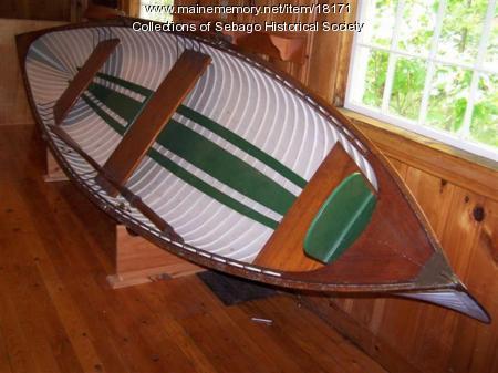 Sebago Boat, ca. 1880