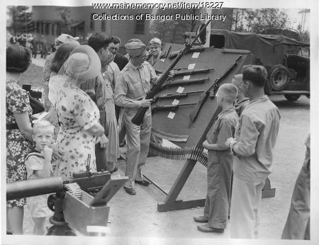 Open House, Dow Field, Bangor, 1945