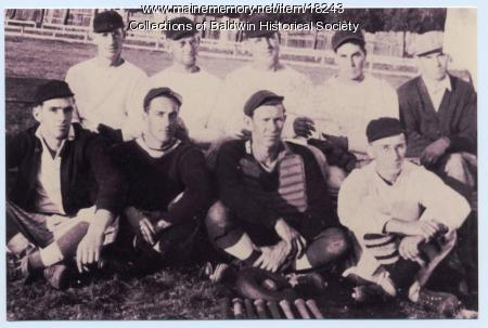Baldwin Apples baseball team, 1935