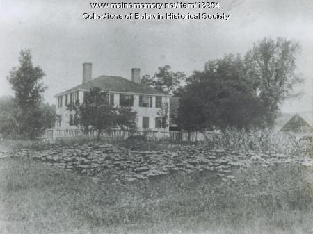 Pierce Place, West Baldwin, ca. 1913