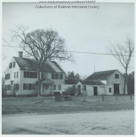 Chadbourne homestead, East Baldwin, ca. 1900