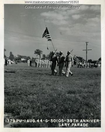 Dow Field Anniversary Parade