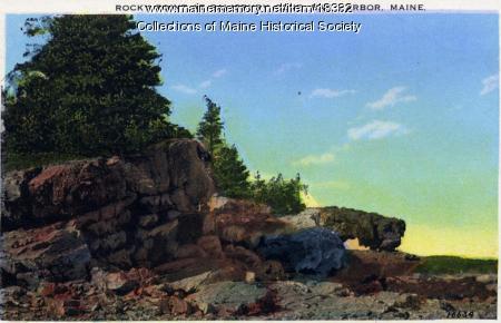 Rocky Point, Salisbury Cove, ca. 1930