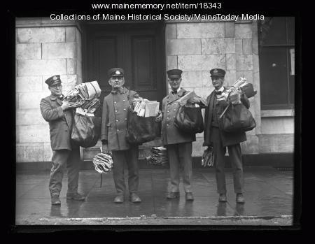 Portland letter carriers, December 1926