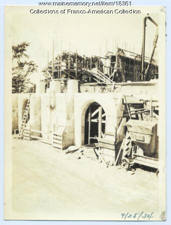 Construction, Sts. Peter and Paul, Lewiston, 1934