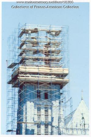 Restoration of Sts. Peter and Paul, Lewiston, 2004