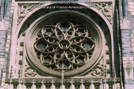 Rose window, Sts. Peter and Paul, Lewiston, 2004