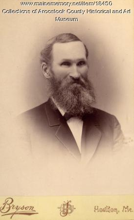 Jacob Miller, Houlton, ca. 1880