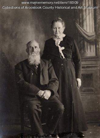 Elizabeth and John Crawford, Littleton, ca. 1890