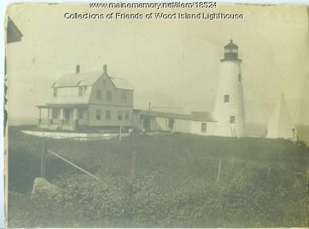 Wood Island Lighthouse  circa 1929