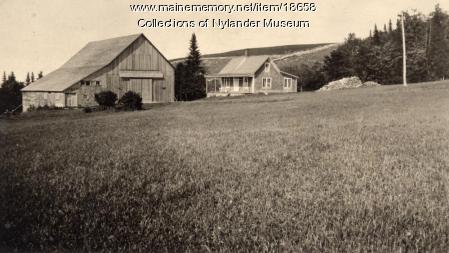 C. E. Adamson farm, New Sweden, ca. 1922