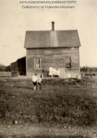 C. O. Johnson house, New Sweden, ca. 1922