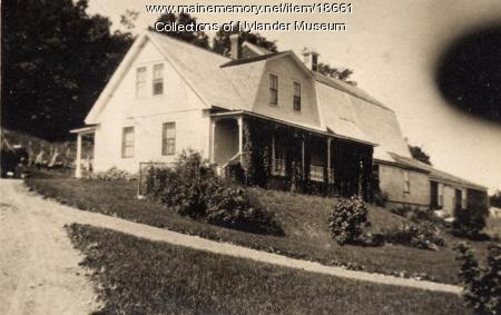 G. D. Fogelin house, New Sweden, ca. 1922